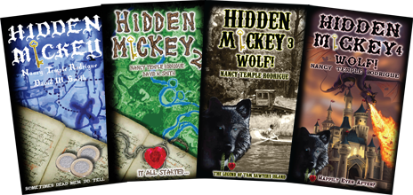 Get your copy of the new Action-Adventure Mystery novel series about Walt Disney and Disneyland