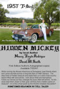 the Authors Nancy & Dave and her '57 T-Bird as featured in HIDDEN MICKEY