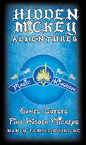 """Hidden Mickey Adventures in WDW Magic Kingdom"" Game and Quests to run inside the Disney park"