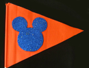 Fans that spot this Hidden Mickey Flag WIN a 'HIDDEN MICKEY ADVENTURES: in Disneyland' or 'HIDDEN MICKEY ADVENTURES: in Disney California Adventure' Game Book.